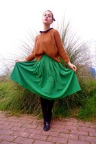 green Lefties skirt
