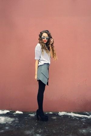 gray Taobao skirt
