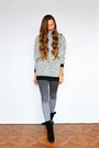 Heather-gray-asos-sweater