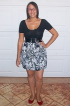 American Apparel dress - skirt - K-mart shoes - Valley Girl belt - Valley Girl