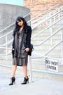 Black-patent-leather-zara-boots-silver-metallic-justfab-dress