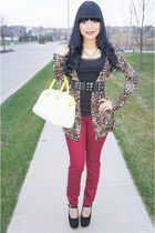 light brown leopard Love Culture cardigan