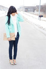 Aquamarine-old-navy-jacket