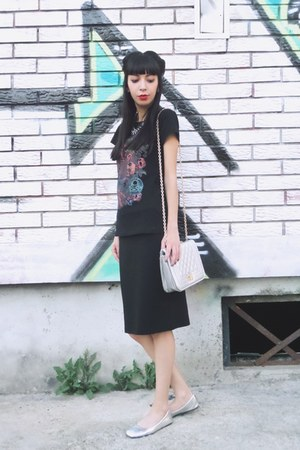 silver silver Rosewholesale bag - black tbdress skirt