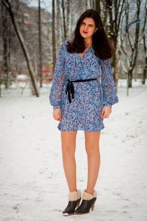 Miss Selfridge dress - Rieker boots