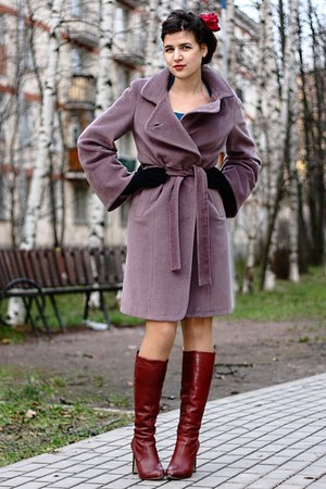 Ardi coat - Miss Selfridge boots - black gloves