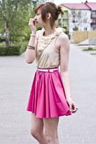 pink River Island skirt