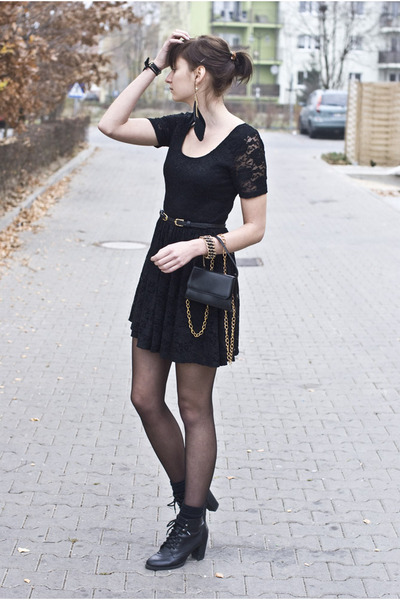 lace asos dress