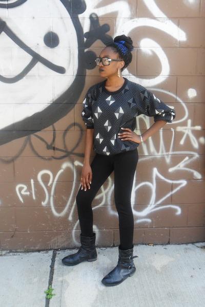 black long black Forever 21 pants