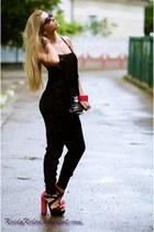 asos heels - H&M pants