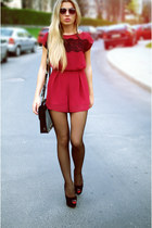ruby red Love dress