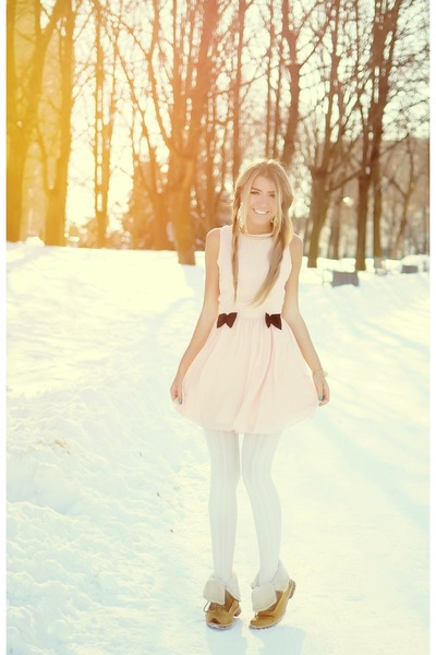 light pink Love dress