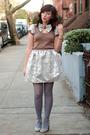 Silver-postlapsaria-dress-gray-h-m-tights-gray-jeffrey-campbell-shoes