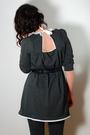 Gray-postlapsaria-dress-gray-gap-tights-black-seychelles-blimeys-belt-blac