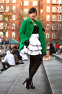 Green-zara-coat-black-lux-blouse-white-postlapsaria-skirt-black-aliceolivi