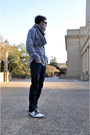 Pull-bear-shoes-levis-jeans-french-connection-shirt-express-scarf-burbe