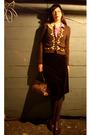 Red-vintage-skirt-brown-anthropologie-sweater-pink-vintage-dress-blouse-wh