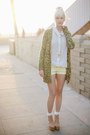 Aquamarine-american-apparel-shirt-light-yellow-h-m-shorts