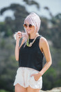 Yellow-31-bits-necklace-ivory-zara-shorts-black-faux-leather-astr-top