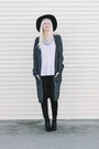 Black-madewell-boots-gray-h-m-cardigan-white-free-people-top