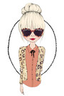 Black-h-m-leggings-tan-causeway-mall-sweater-black-karen-walker-sunglasses