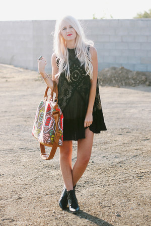 Cleobella bag - free people dress