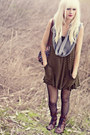 Brown-steve-madden-boots-striped-anthropologie-dress-black-jcrew-tights-he