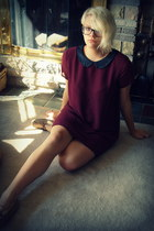 H&M dress - moccasins flats