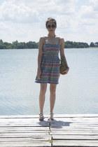 Vans dress - Choies sunglasses - Kitten sandals