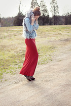 Forever21 vest - Nordstrom skirt
