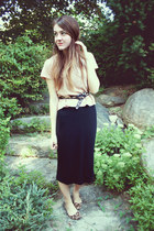 Target flats - H&M shirt - f21 skirt