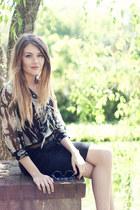 Karen Kane blouse - H&M skirt