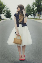 tulle Kellie Falconer skirt - Kate Young for Target shoes