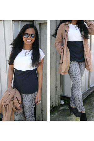 Target jeans - Target boots - H&M jacket - banana republic skirt