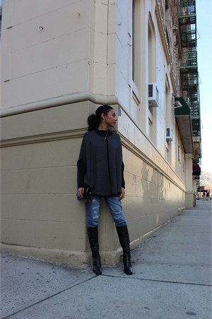 gray Forever 21 coat