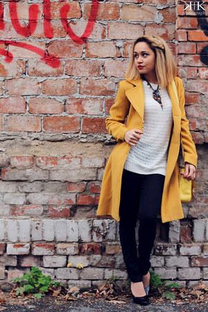 miniprix shoes - Accessorize purse - Zara blouse - H&M pants