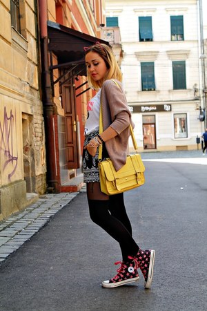 yellow Accessorize bag