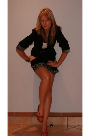 unknown brand vest - Edgars skirt - Foschini blazer - Luella shoes