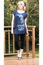 Blue-insync-top-black-edgars-leggings-black-mr-price-shoes