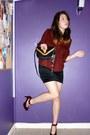 Black-shoulder-bag-ysl-bag-red-vintage-heels-black-velvet-handmade-skirt-r