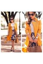 gold Forever 21 coat