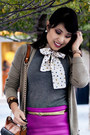 Heather-gray-scarf-neck-tie-mng-by-mango-shirt-eggshell-marco-santi-shoes