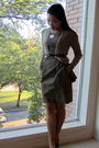 Bcx-dress-banana-republic-cardigan-steve-madden-shoes