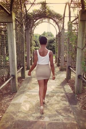 ivy  & leo top - Forever 21 skirt