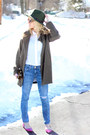 Olive-green-choies-coat-blue-current-elliot-jeans-olive-green-d-y-hat