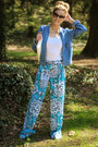 Blue-stylus-jacket-blue-worthington-pants