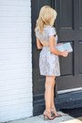 Periwinkle-nasty-gal-dress-heather-gray-prima-donna-bag