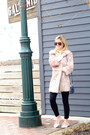 Light-pink-forever-21-jacket-blue-vince-camuto-bag