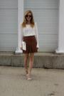 White-nordstrom-rack-sweater-white-tildon-bag-bronze-ray-ban-sunglasses