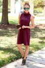 Dark-green-10-crosby-derek-lam-boots-maroon-leith-dress